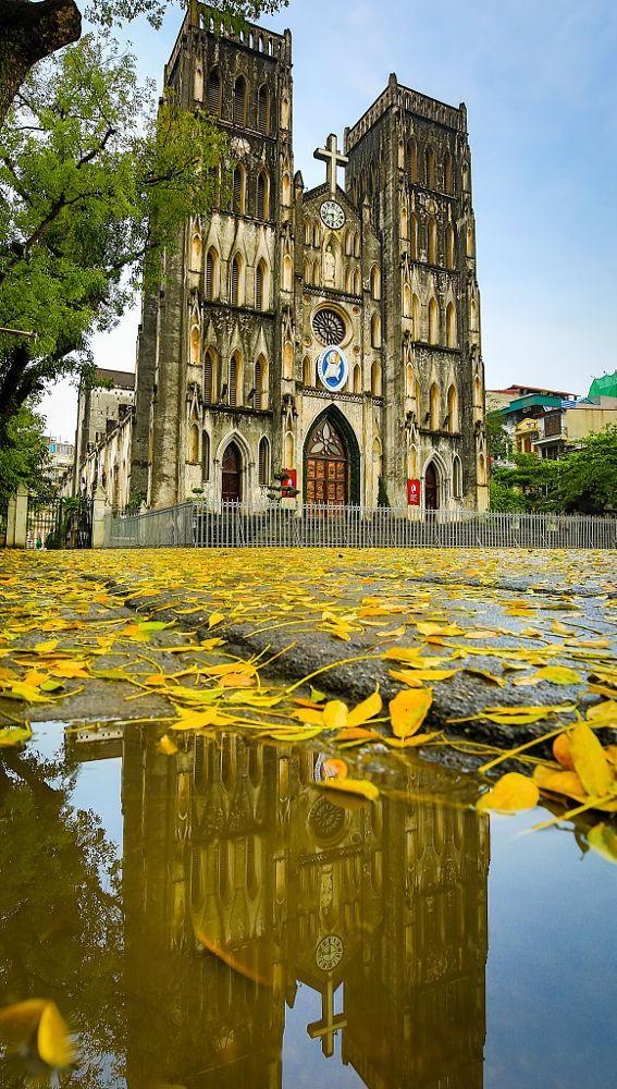 Nhà thờ Lớn Hà Nội – góc vắng chiều thu