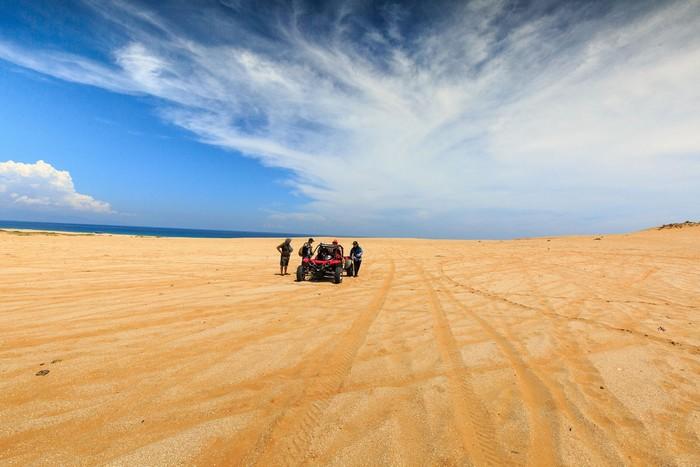 Nơi khiến người ta ngỡ như mình đang lạc bước chốn sa mạc Sahara đầy hoang sơ, bí ẩn