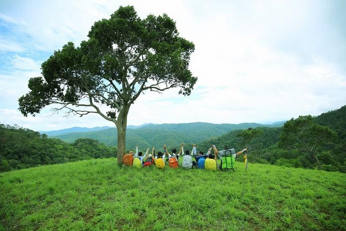 Cái tên Tà Năng- Phan Dũng đang ngày càng có sức hút, mỗi cuối tuần có đến gần 10 nhóm tham gia trek theo nhiều tuyến đường.