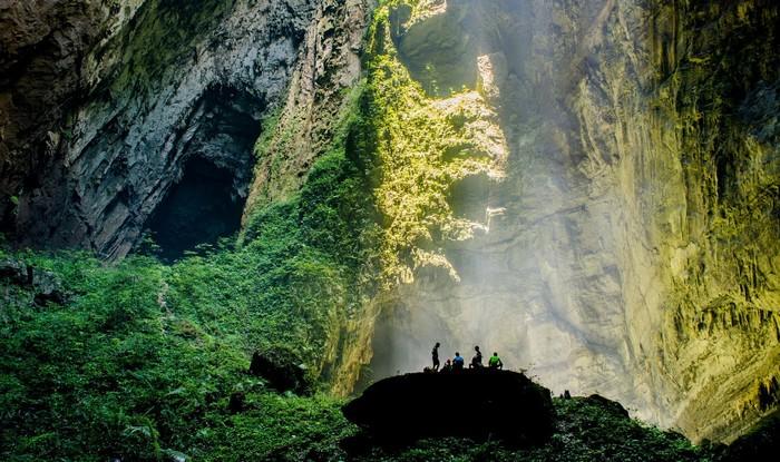 Cả một thế giới mới ở hang động được cả thế giới trầm trồ này