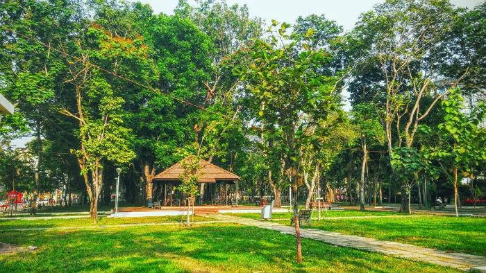 Công viên xanh mát