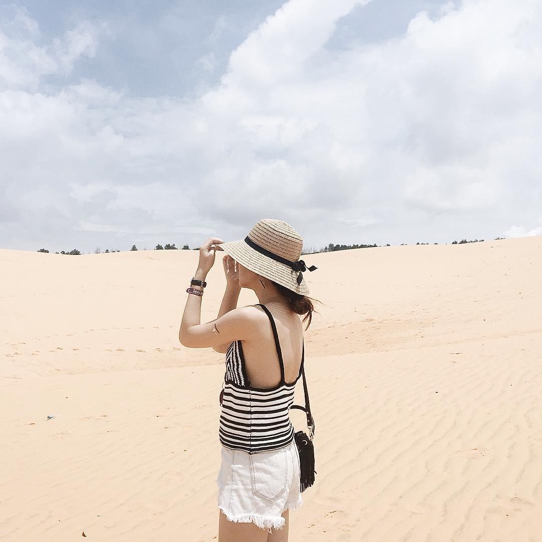 Check-in tại đồi cát Mũi Né