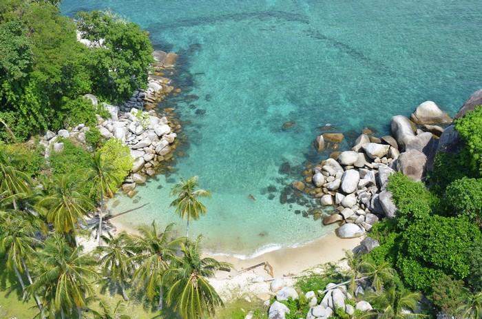 Một thiên đường biển đẹp thế này