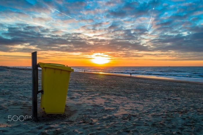 Hãy đặt rác đúng nơi để bảo vệ môi trường xung quanh