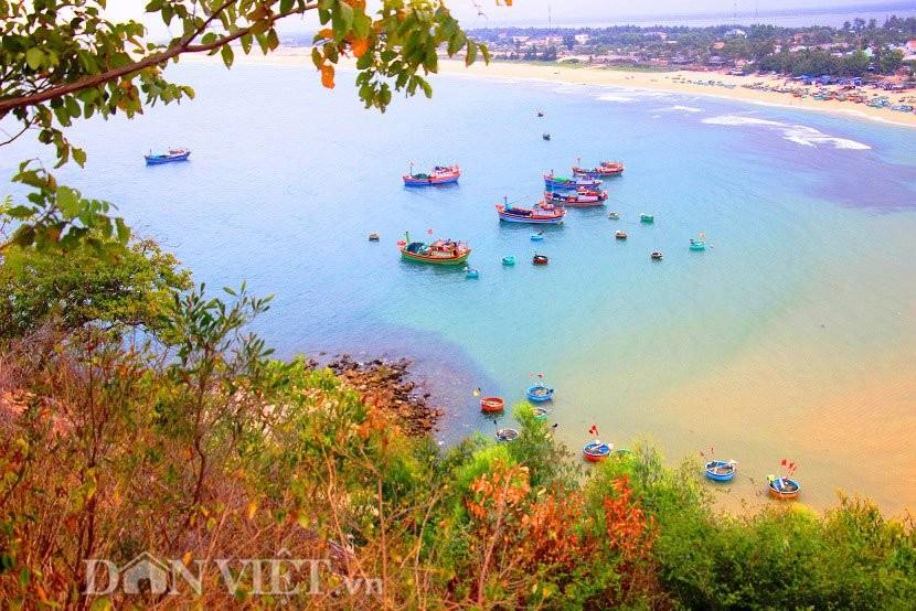 Một góc tĩnh lặng ở làng chài Xuân Hải