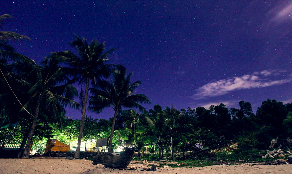 Cù Lao Chàm lóng lánh sao về đêm