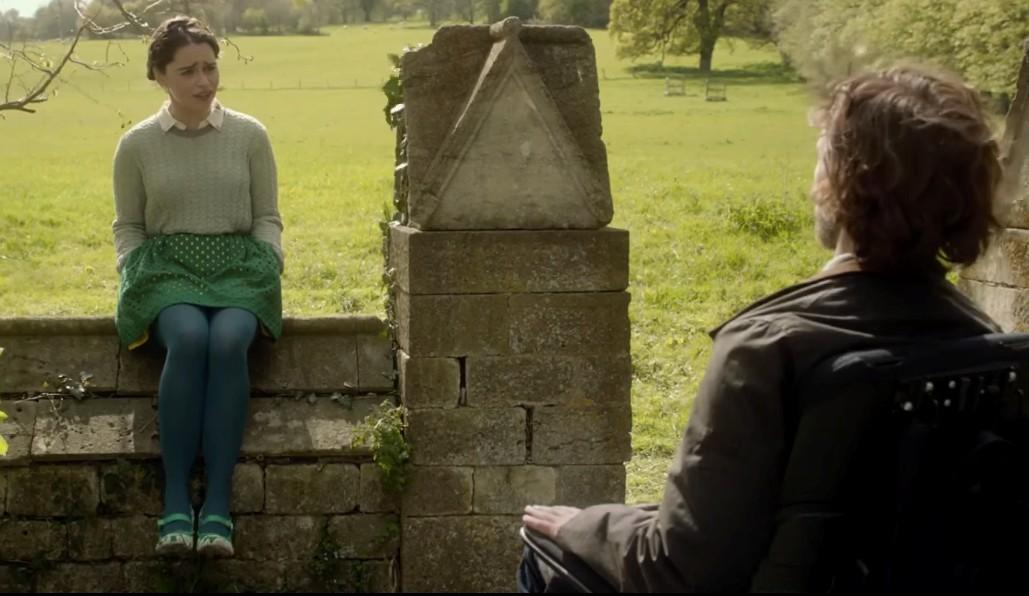 Cảnh trò chuyện của Louisa và Will trong phim