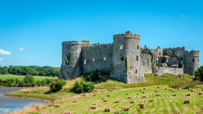 Một trong những lâu đài tráng lệ nhất xứ Wales