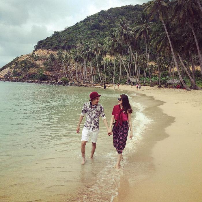 Nam Du cũng là nơi các cặp đôi chọn làm địa điểm lưu giữ những khoảnh khắc trọng đại trong đời mình