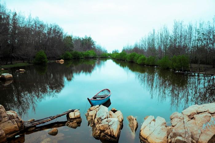 """Một góc nhỏ mang một nét """"trầm"""" đến xao xuyến của Hồ Cốc"""