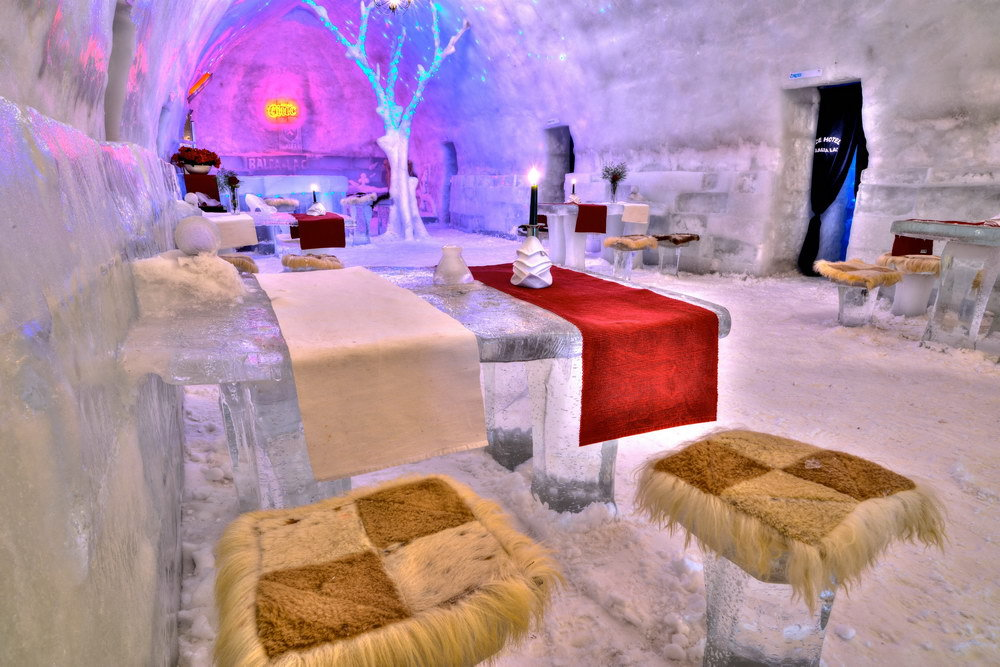 Hotel of Ice (Balea Lac, Romania)
