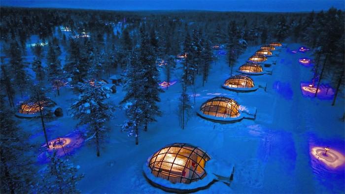 Kakslauttanen Arctic Resort (Saariselkä, Phần Lan)