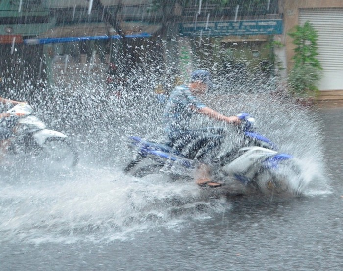 Nhưng khi trời mưa thì hoàn toàn khác đấy nhé!