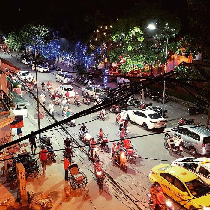Một góc phố Tây Huế