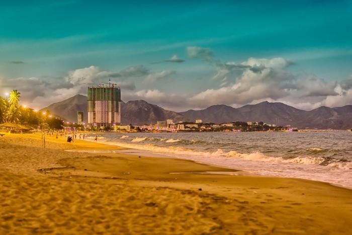 Bãi biển thành phố