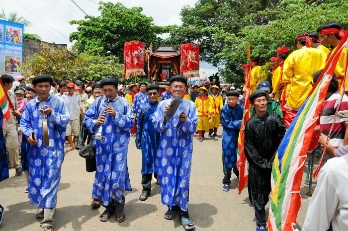 Lễ hội nghinh ông, nét đặc sắc văn hóa - Ảnh: nguyenhuulongtri