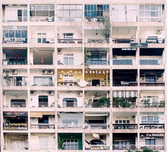 Tổ cafe Sài Gòn - Ảnh: Ngo Quan