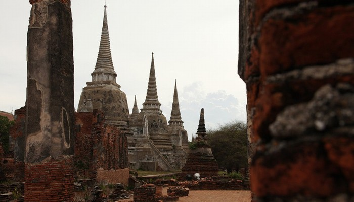 Đền Phra Si Sanphet, Ayutthaya, Thái Lan