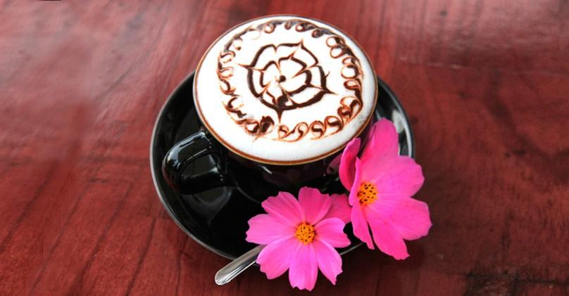Ly cafe đẹp mắt và thơm ngon ở Zen