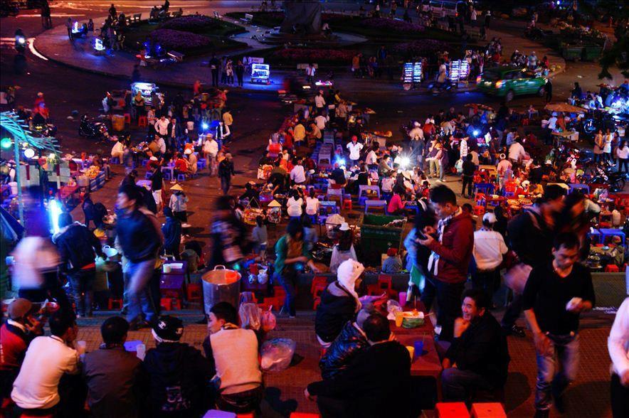 Chợ Âm phủ như một nét đẹp về đêm ở Đà Lạt