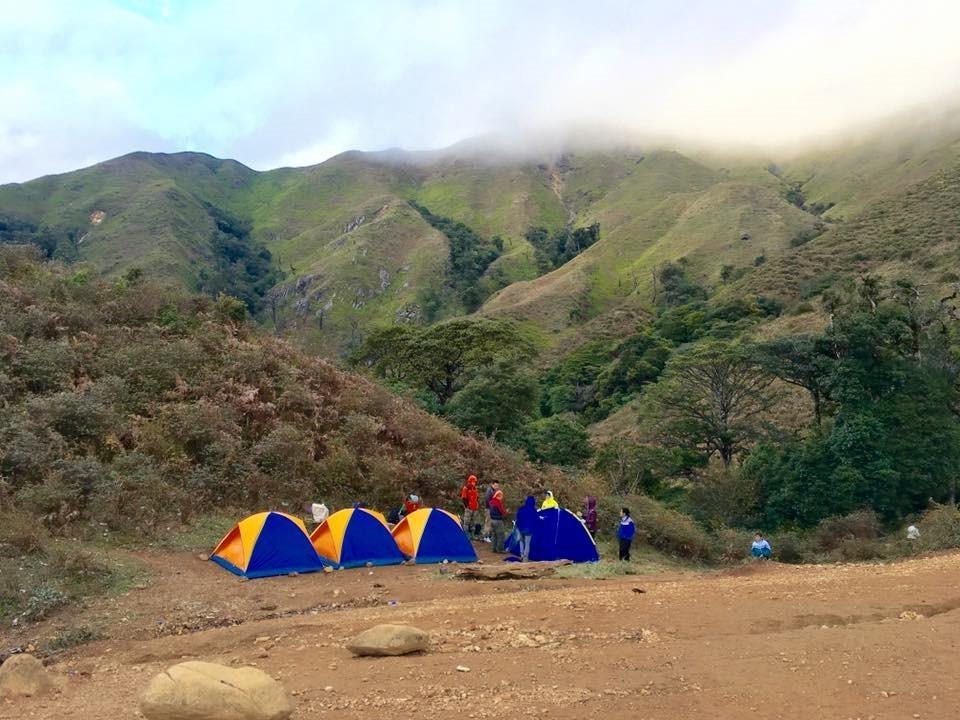 Dựng lều ở cùng thiên nhiên Tà Chì Nhù