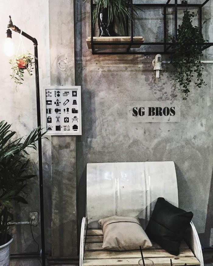 Góc riêng tại SG Bros - Ảnh: @kylee3o8