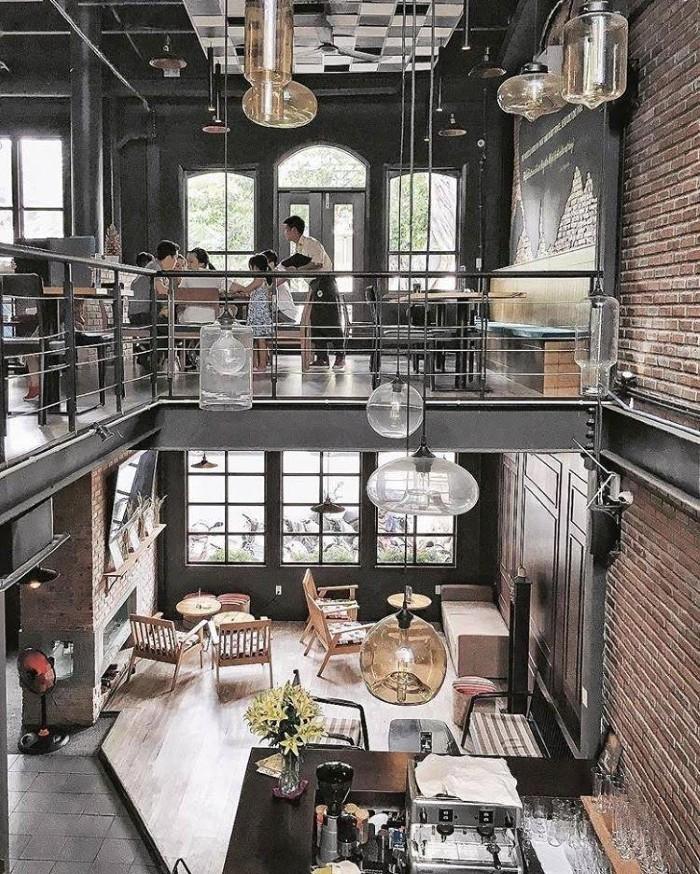 Retro Kitchen & Bar là sự kết hợp giữa không gian nhà hàng và không gian cà phê – Ảnh: @retrokitchenbar