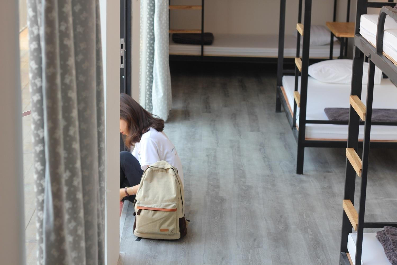 Dãy hostel bằng container độc đáo