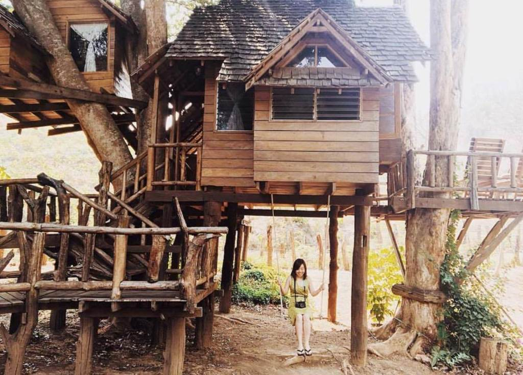 Nhà trên cây (Tree House) ở Chiang Mai