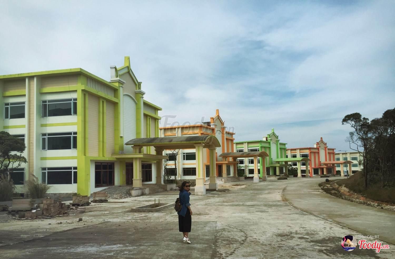 Những khu nghỉ dưỡng mới đang được xây trên Bokor