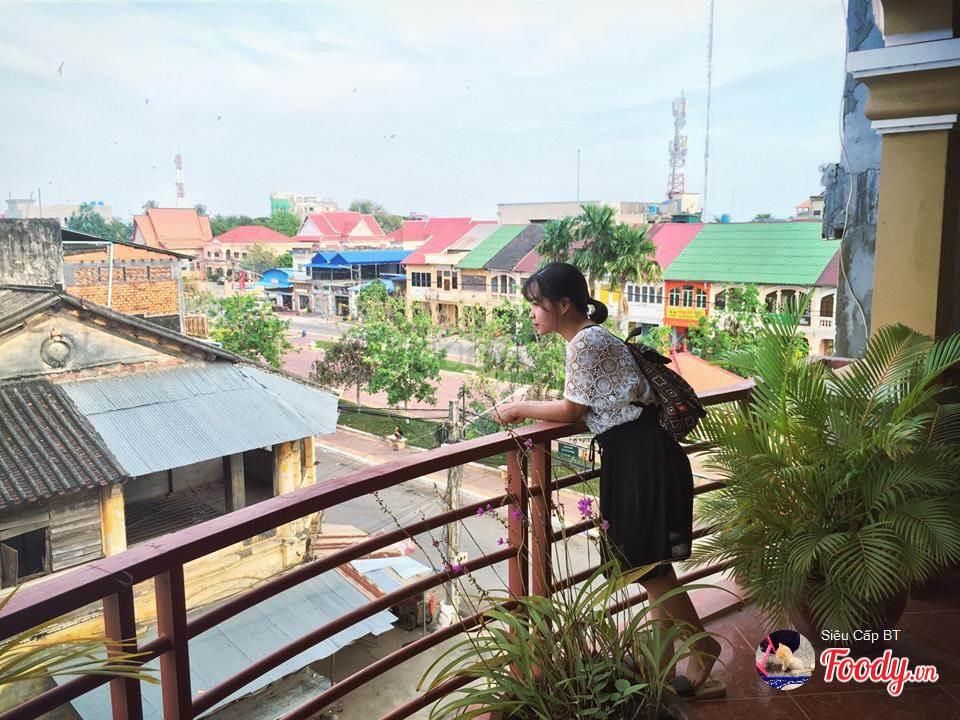 Kam Pot, thành phố cổ kính mang kiến trúc Pháp