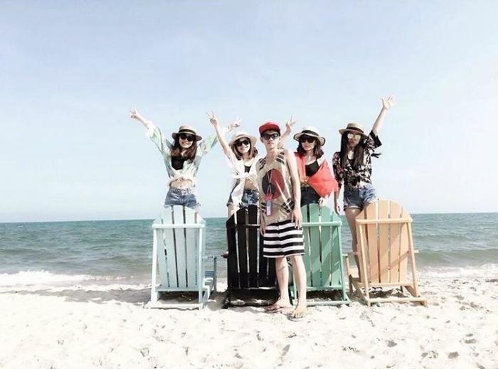 Tận hưởng không khí trong lành ở các bãi biển Bình Thuận cùng bè bạn