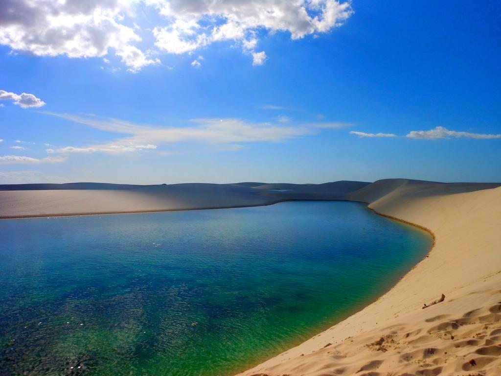 Mang đến cảm giác 'đi biển giữa sa mạc'