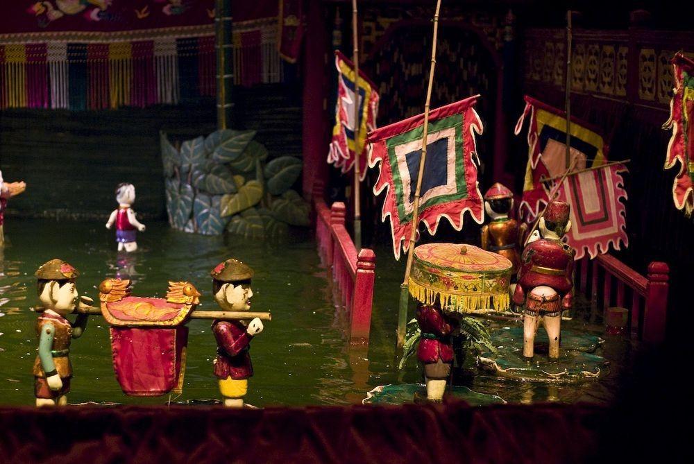 Múa rối nước được sinh ra từ các làng xã nằm ở vùng đồng bằng sông Hồng, miền Bắc Việt Nam từ thế kỷ 11.