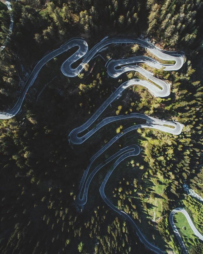 Cung đường giữa rừng xanh- Ảnh: Jannikobenhoff