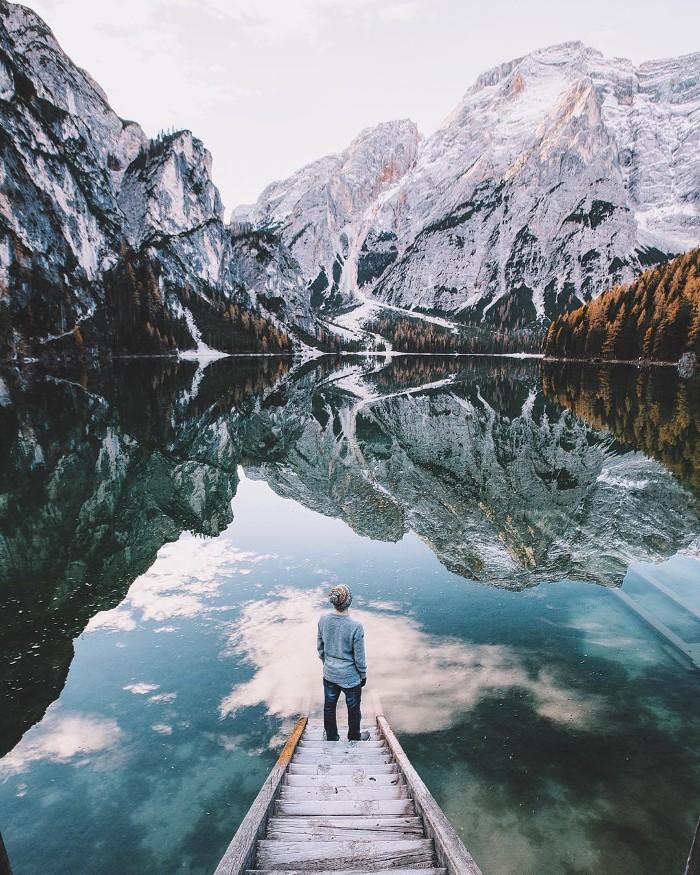 Hay những chuyến đi một mình- Ảnh: Jannikobenhoff