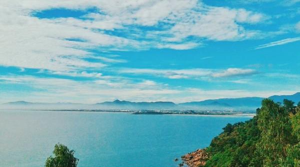Đó là làng Vân thuộc vịnh Nam Chơn - Ảnh: Giotcho