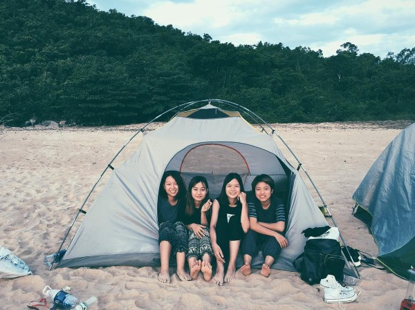 Có Bãi Giữa cho những ai muốn cắm trại ngắm biển lúc đêm về- Ảnh: Danthanh3110