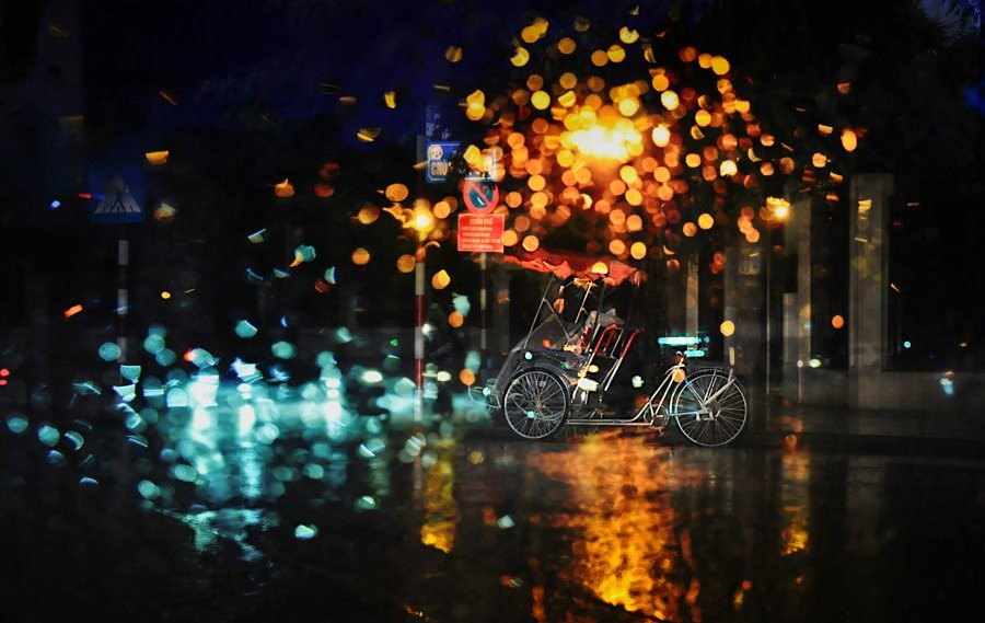Xích lô một tối mưa
