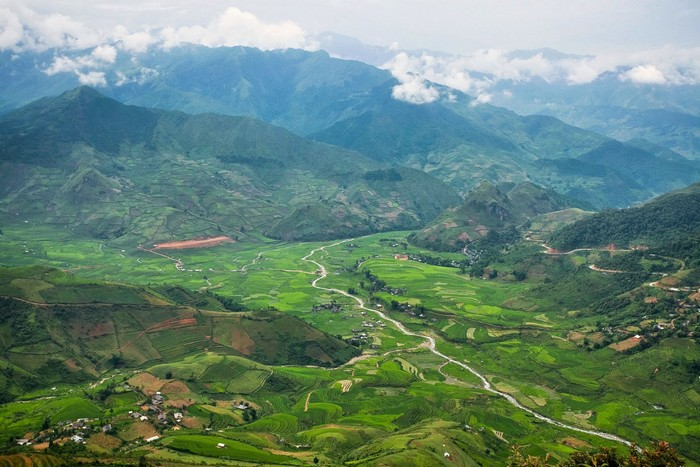 Mù Cang Chải - một trong những điểm ngắm ruộng bậc thang đẹp ở Đông Nam Á