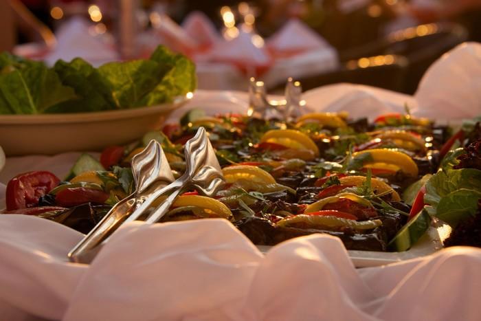 Những bữa tiệc buffet sang trọng