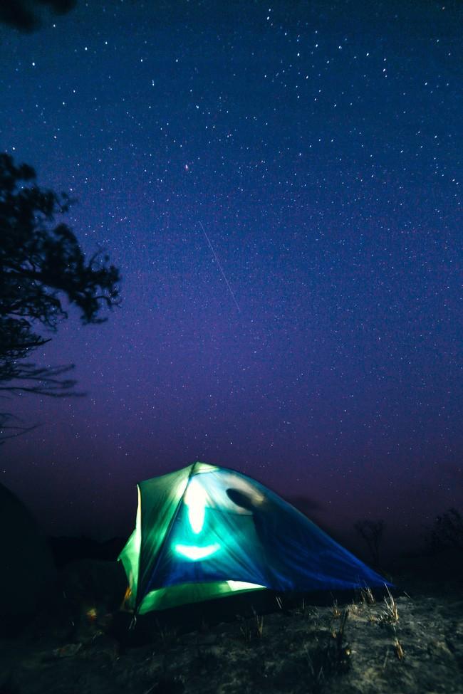 Mở tung mọi thứ và ngước nhìn một bầu trời đầy sao.