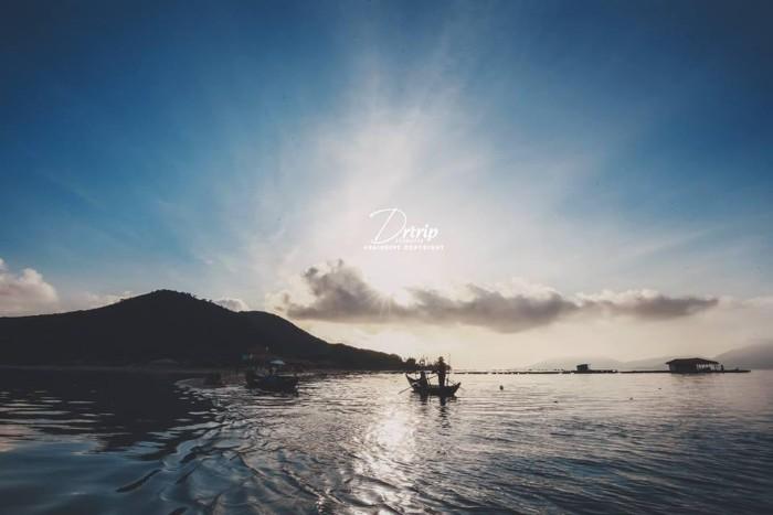 Bình yên sớm mai - Ảnh: Quang Tú