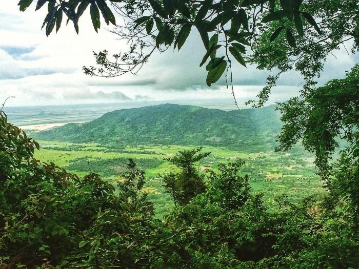 Rừng cây bạt ngàn chốn núi Cấm- Ảnh: lilo251491