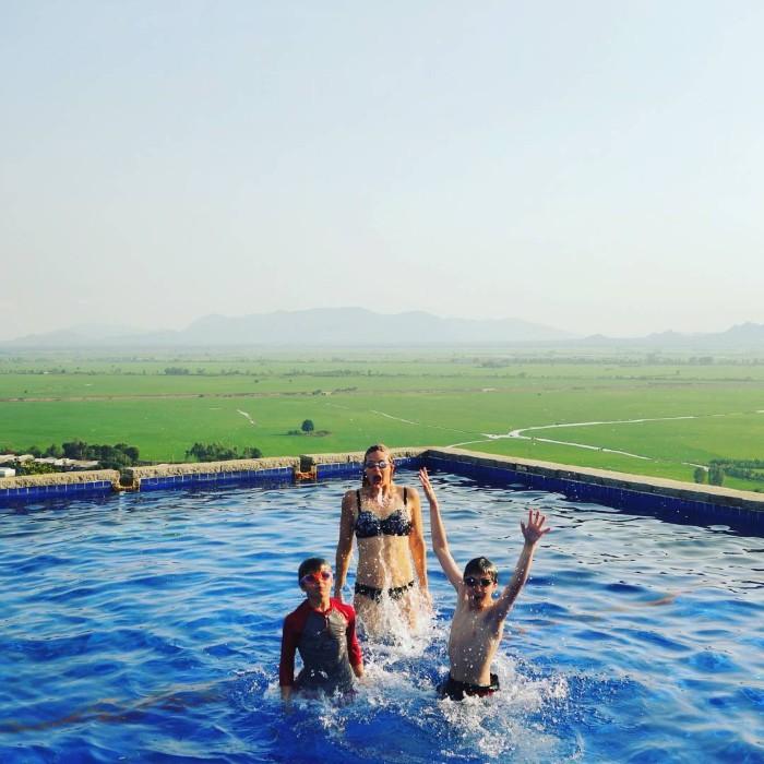 Hồ bơi không thể không mê- Ảnh: nicolascristea