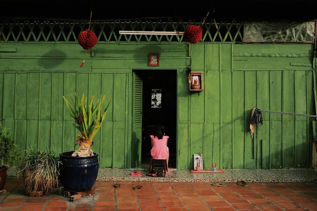 Mảng màu độc đáo của ngôi nhà Hoa kiều-