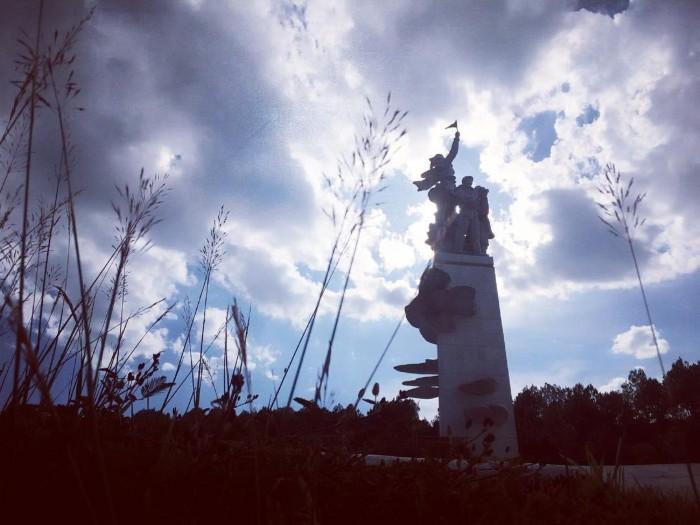 Ngã ba Đồng Lộc – nơi ghi dấu một thời hào hùng - Ảnh: hitle.nguyen