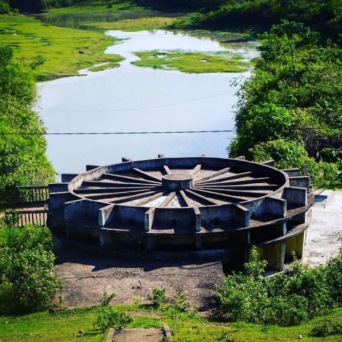 Một góc hồ Kẻ Gỗ - Ảnh: sinh.duong