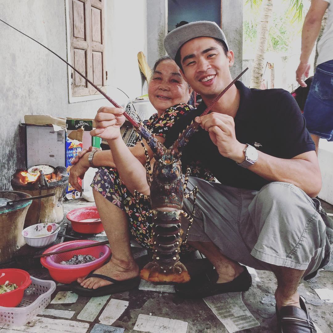 Được thưởng thức hải sản tươi ngon thế này còn gì bằng - Ảnh: @ducanh.le0690