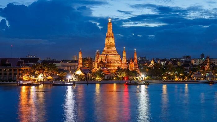 Kiến trúc đặc trưng vừa nhìn đã biết Bangkok